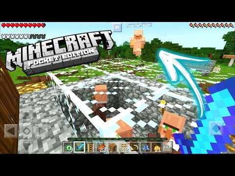 ME VINGUEI DO AGENTE! MINECRAFT POCKET EDITION [SURVIVAL EM DUPLA] MINECRAFT PE