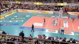 18-12-2013: Lite Stoichev Cottarelli in gara5 finale play off