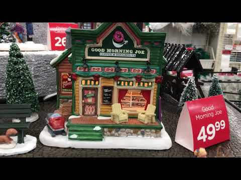 Lemax Christmas Town / Village  2017 at Michaels