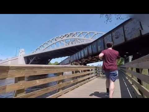 Charles River Bike Path Hyperlapse