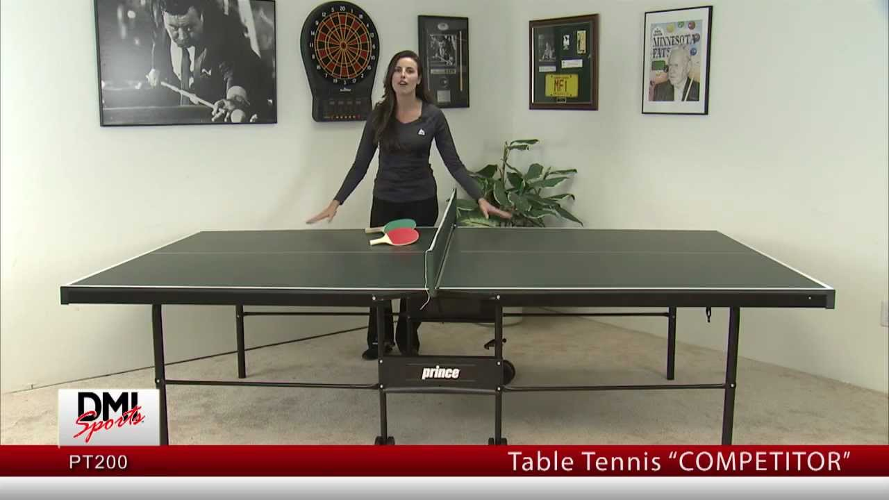 Table Tennis Table PT200 Competitor   Prince