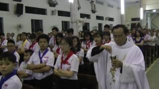 Phụng Vụ Phép Rửa - Hiến Lễ Phục Sinh(Thiếu Nhi Nghĩa Hòa)