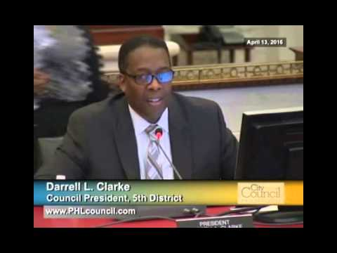 Philadelphia City Council Budget Hearings 4-13-2016 Full Day
