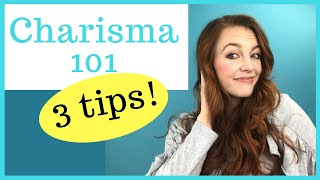 HOW TO BE CHARISMATIC AS A WOMAN (Be more charismatic all the time with these charisma tips)