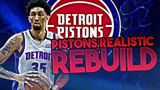 DETROIT PISTONS REALISTIC REBUILD! (NBA 2K20)