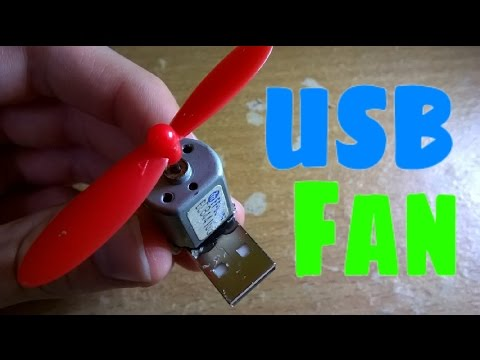 Usb Fan Diy