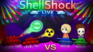Level 100 Pros vs Noobs! | Shellshock Live