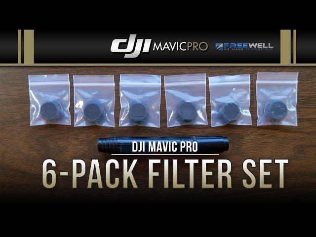 DJI Mavic Pro / 6-Pack Filter Set (Showcase)