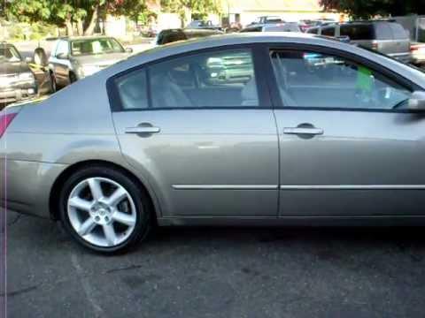 2004 Nissan Maxima SE, 4 Door, 3.5 V6, Automatic, FULLY LOADED, Warranty!!!