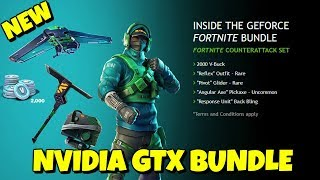 NEW: How to get NVIDIA EXCLUSIVE - REFLEX SKIN BUNDLE in Fortnite