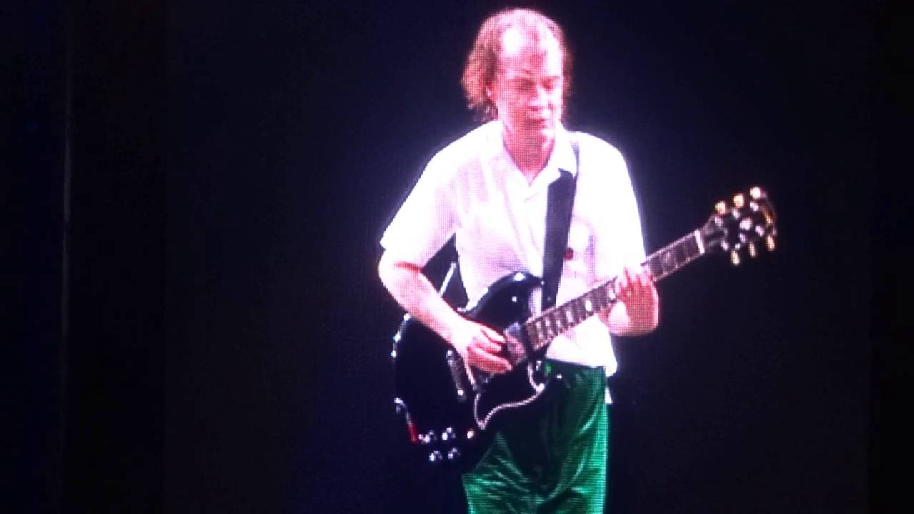 guitar hero angus young plays bach ac dc improvisation live in leipzig youtube