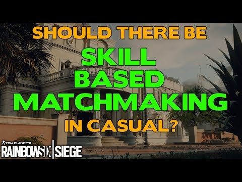 rainbow six siege matchmaking preferences