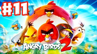 Angry Birds 2 - Gameplay Walkthrough Part 11 - Levels 71-75! 3 Stars! Chirp Valley! (iOS, Android)
