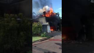 House FIRE - Durban, South Africa