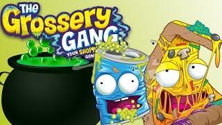 Sugar Slime • Grossery Gang • DIY • bajka po polsku