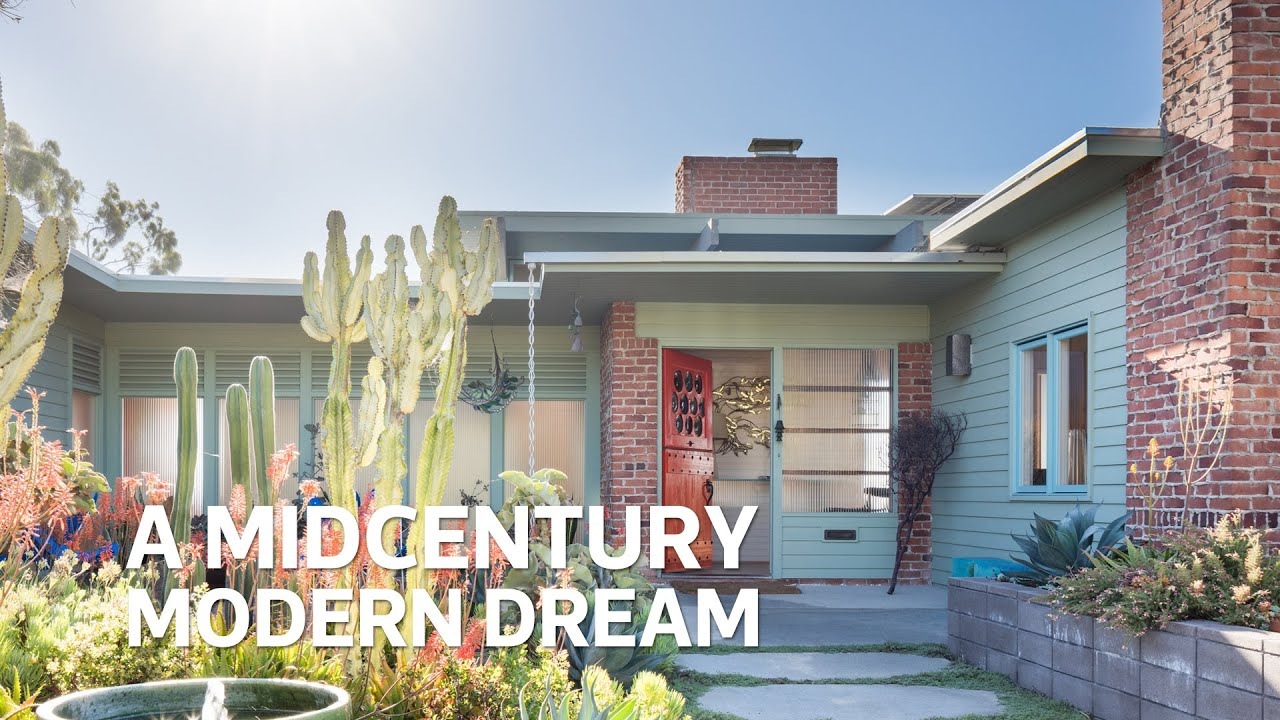 A Midcentury Modern Dream in San Diego ☀ | House Calls - YouTube