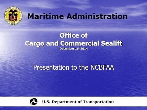 NEI Webinar | December 16, 2015 - US Flag Vessel Requirements for Government Owned & Financed Cargo
