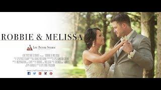 Robbie and Melissa Wedding Highlight at Perona Farms in Andover, NJ