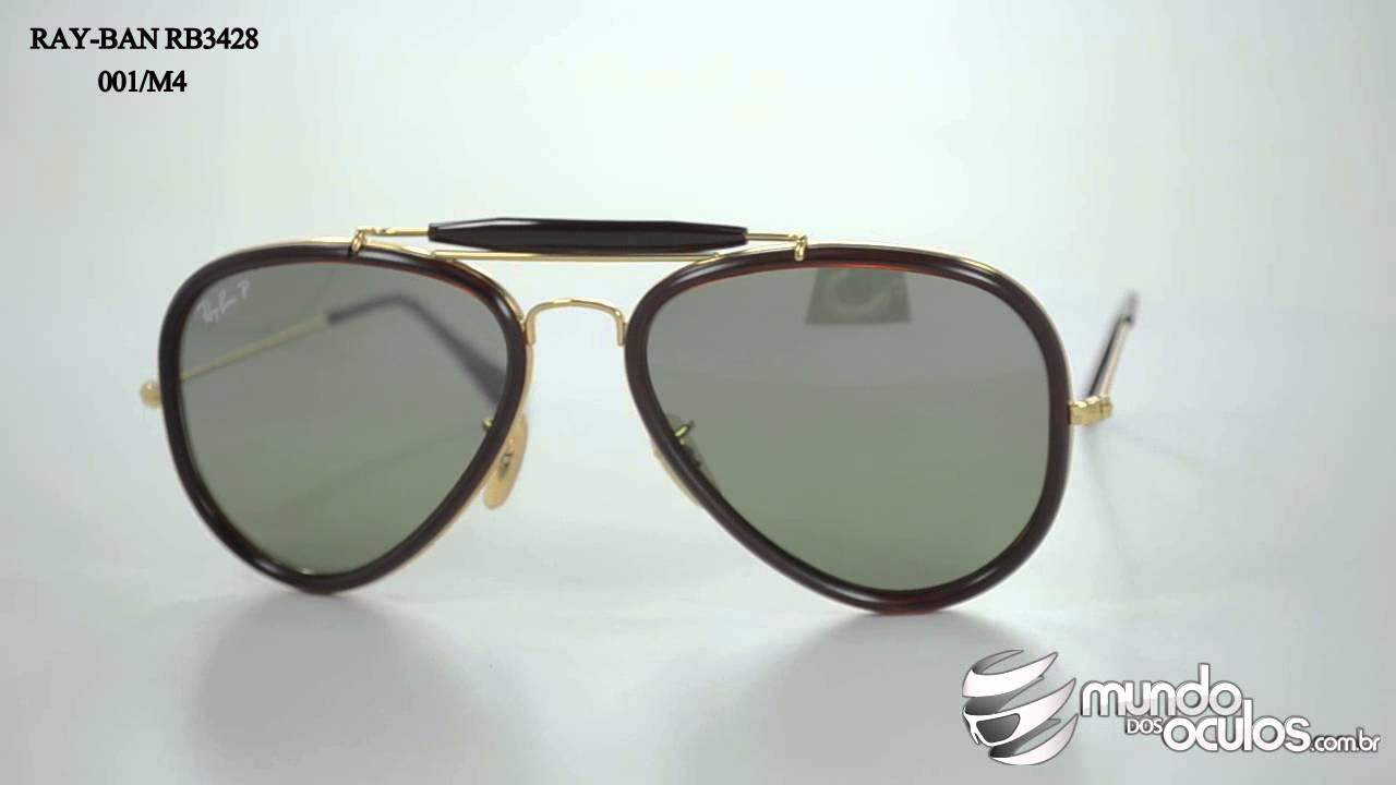 187ff34a3c Ray-Ban RB3428 001 M4 - YouTube
