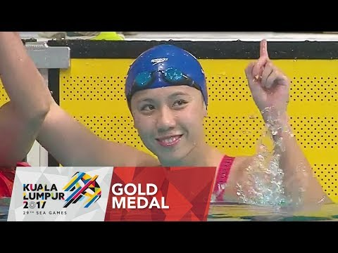 Swimming Women's 50m Freestyle- Final    Gold Medal   (Games Record )   29th SEA Games 2017