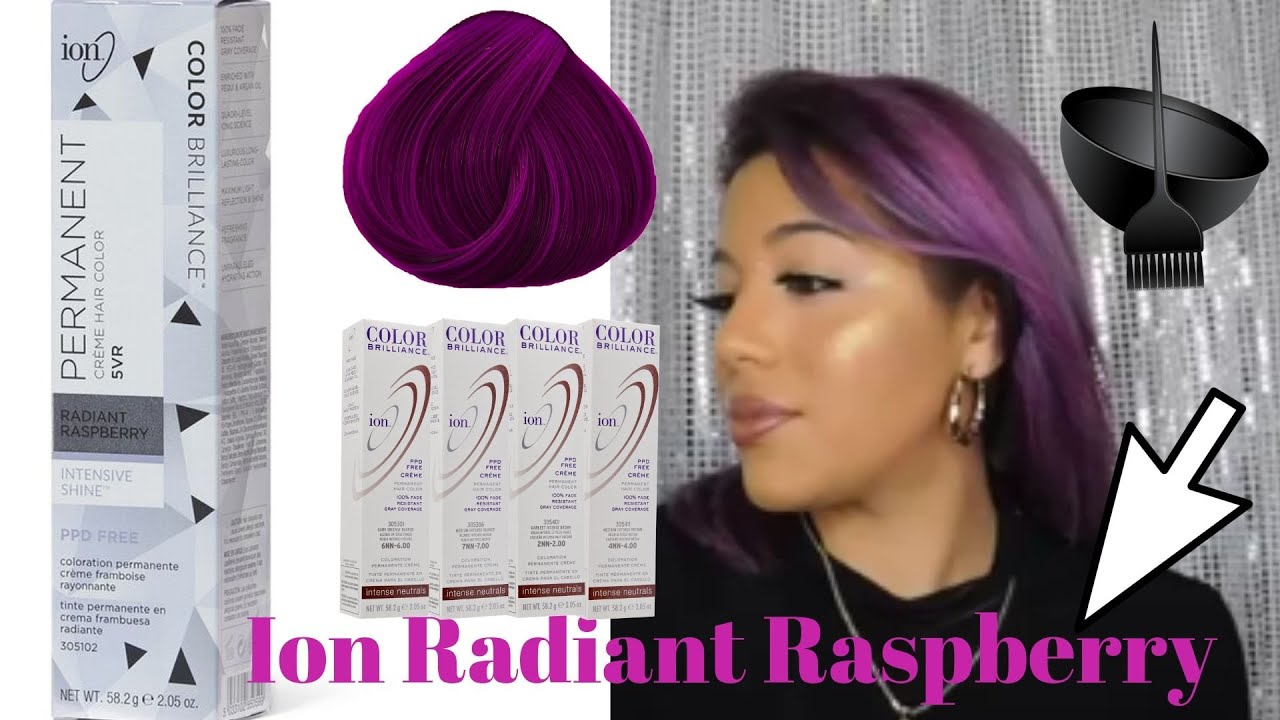 Ion Radiant Raspberry Hair Youtube