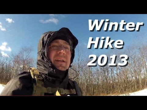 Winter Hike: Cold, Windy and Looking For Wind Turbines