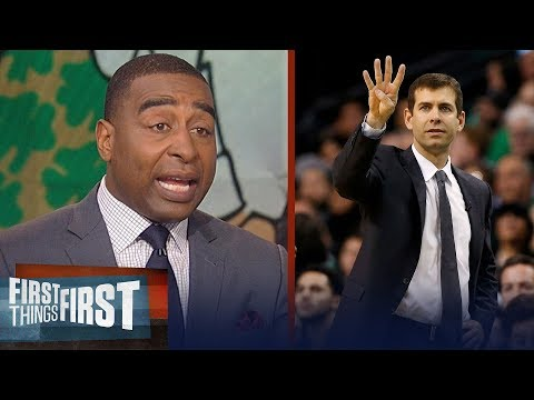 Cris Carter's advice to Boston's Brad Stevens ahead Cavs - Celtics Game 2 | NBA | FIRST THINGS FIRST