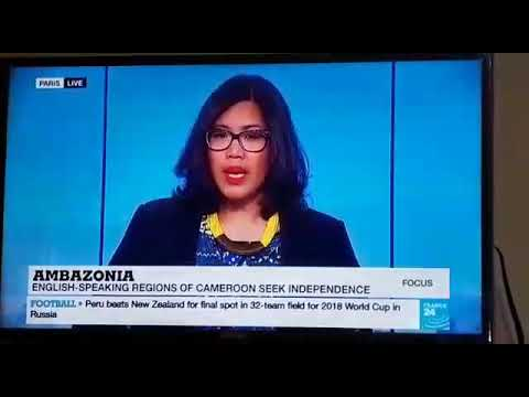 FRANCE 24 TV.  REPORTS ON SOUTHERN CAMEROON