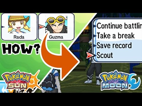 Pokémon Sun & Moon Tutorial: Team up at the Battle Tree!