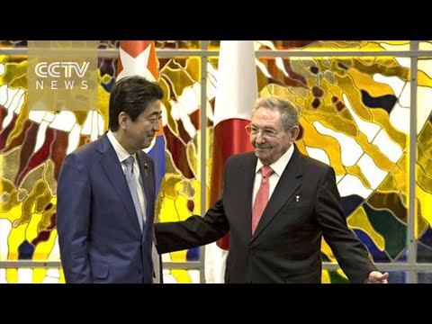 Shinzo Abe the first Japanese PM to visit Cuba