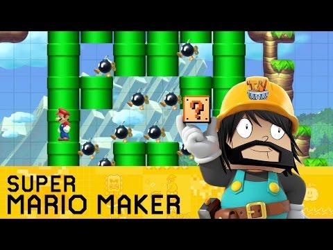 Super Mario Maker - Mario's Minecraft Adventure!