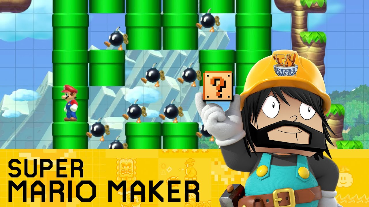 Stampy And Sqaishey Mario Maker : Super Mario Maker - Mario s Minecraft Adventure! - YouTube