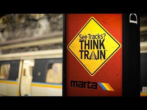"MARTA   ""See Tracks, Think Train!"""