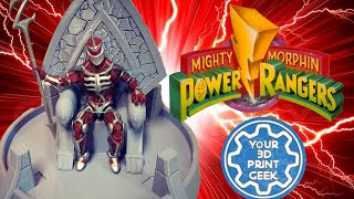 Lord Zedd Throne file for 3D printing