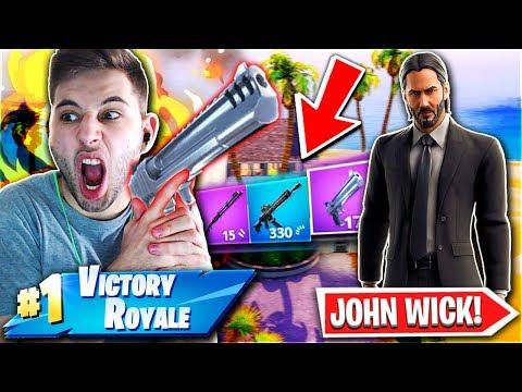 ΑΣΤΕΙΑ ΝΙΚΗ ΣΤΟ JOHN WICK CHALLENGE! (Fortnite Battle Royale)