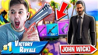 ΑΣΤΕΙΑ ΝΙΚΗ ΣΤΟ JOHN WICK CHALLENGE! (Fortnite Battle Royale)