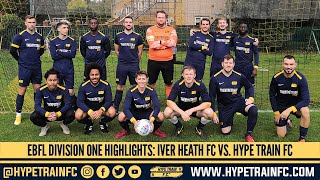 EBFL 2020/21 - Division 1 (Match 1): Iver Heath FC vs. Hype Train FC