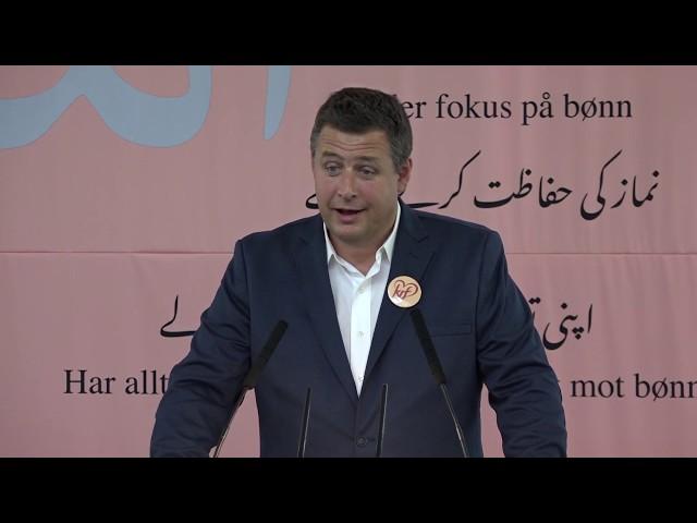 Espen Andreas Hasle (Oslo, Kristelig folkeparti) - Jalsa Salana 2019
