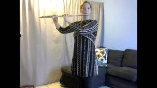 Harmonics exercises for flute