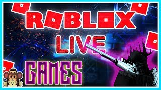 🔴ROBLOX/ LIVE STREAM LET'S PLAY GAMES WE LOVE (PC)