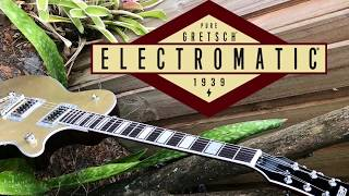 Gretsch G5220 Electromatic Jet BT - Casino Gold Demo Broad'Tron pickups Broadtron