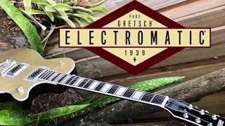 Gretsch G5220 Electromatic Jet BT - Casino Gold Demo Broad'Tron pickups Broadtron