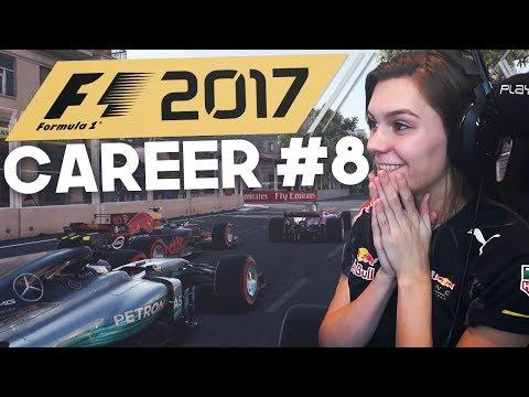 VETTEL MOTORPROBLEMEN! F1: 2017 CAREER MODE DUTCH! #8 BAKU! (F1: 2017 Gameplay)