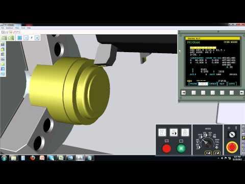 CNC Turning Virtual Machine 005
