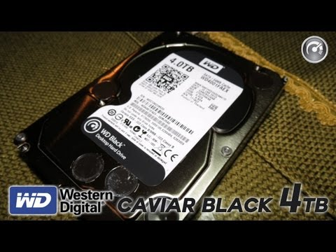 Un Infinità Di Spazio! - Western Digital Caviar Black 4TB
