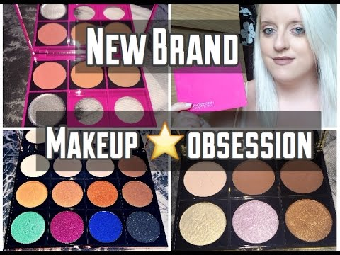 Makeup Obsession Palette Review | Custom Palette | Luxuryblush