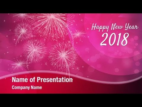2018 new year celebration powerpoint template backgrounds 2018 new year celebration powerpoint template backgrounds digitalofficepro 00788w toneelgroepblik Choice Image