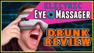 Electric Eye Massager - Drunk Tech Review - Naipo Breo
