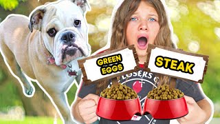 MY DOG CONTROLS MY LIFE FOR A DAY! 24 HOUR CHALLENGE with FUN AND CRAZY KIDS!