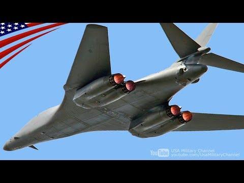 超音速(マッハ1.25)可変翼爆撃機B-1Bランサー - B-1B Lancer